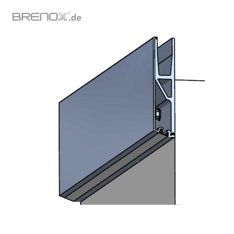 abdeckprofil crosilux system 1 0 f r led beleuchtung f r. Black Bedroom Furniture Sets. Home Design Ideas