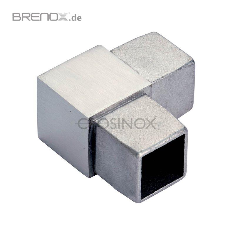 eckverbinder 90 f r vierkantrohre v4a edelstahl 9 00 eur. Black Bedroom Furniture Sets. Home Design Ideas