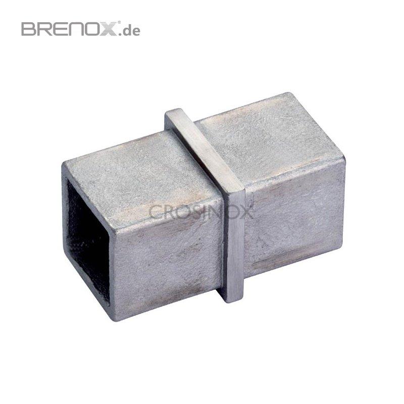 vierkantrohr verbinder stahl metallteile verbinden. Black Bedroom Furniture Sets. Home Design Ideas