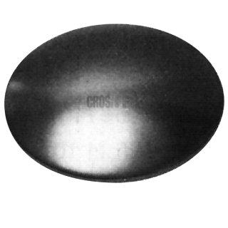 Scheibe gewölbt, Stahl pressblank