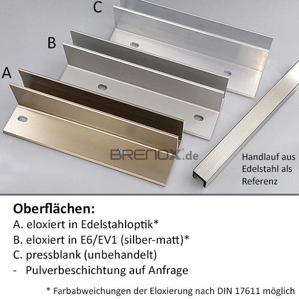 abdeckprofil croso system 1 0 mit schr ge f r vorgesetzte bodenprofi 37 36. Black Bedroom Furniture Sets. Home Design Ideas