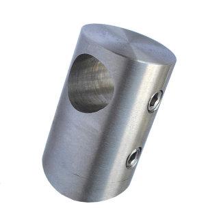 Stabhalter / Rundstabhalter, V2A Edelstahl, für runde Füllstäbe